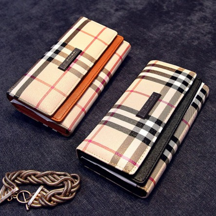 Luxury-British-Lattice-Women-Long-Wallet-Classic-Plaid-PU-Leather-Hasp-Clutch-Ladies-Brand-new-Design (1)